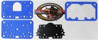Gasket Pack for Model 4160 Blue Non Stick Metering Block Fuel Bowl Plate