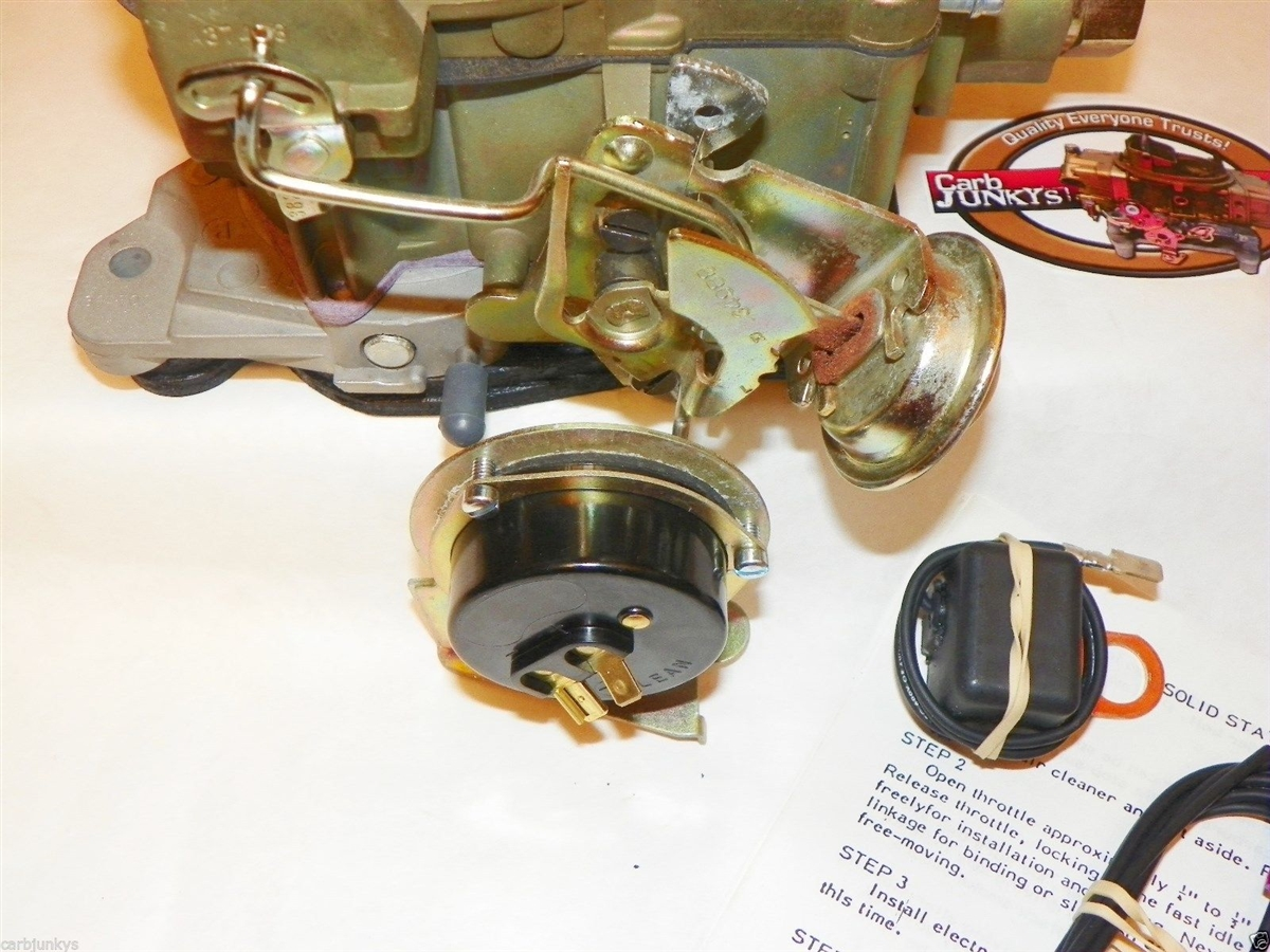 Pontiac Electric Choke Conversion Rochester Quadrajet Carburetor 350 Wiring 400 428
