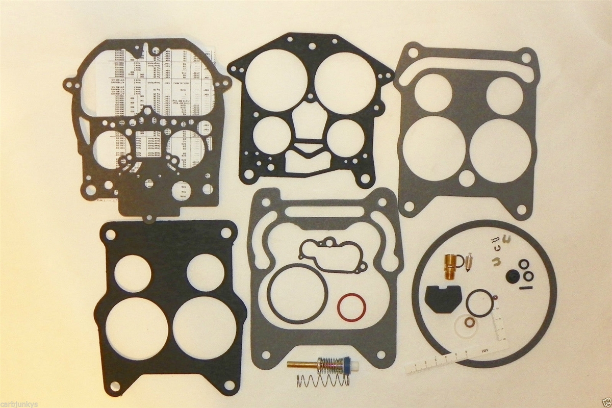 Rochester 4MC 4MV Carburetor Rebuild Kit quadrajet 4 bbl