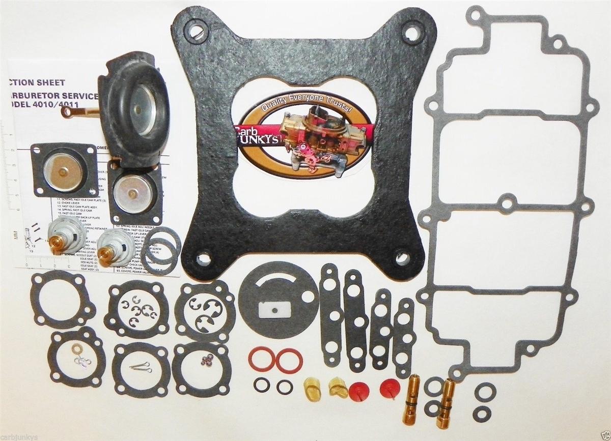 Marine Holley 4010 Carburetor Repair Kit 84010 84011 84012 84013 84020 84047