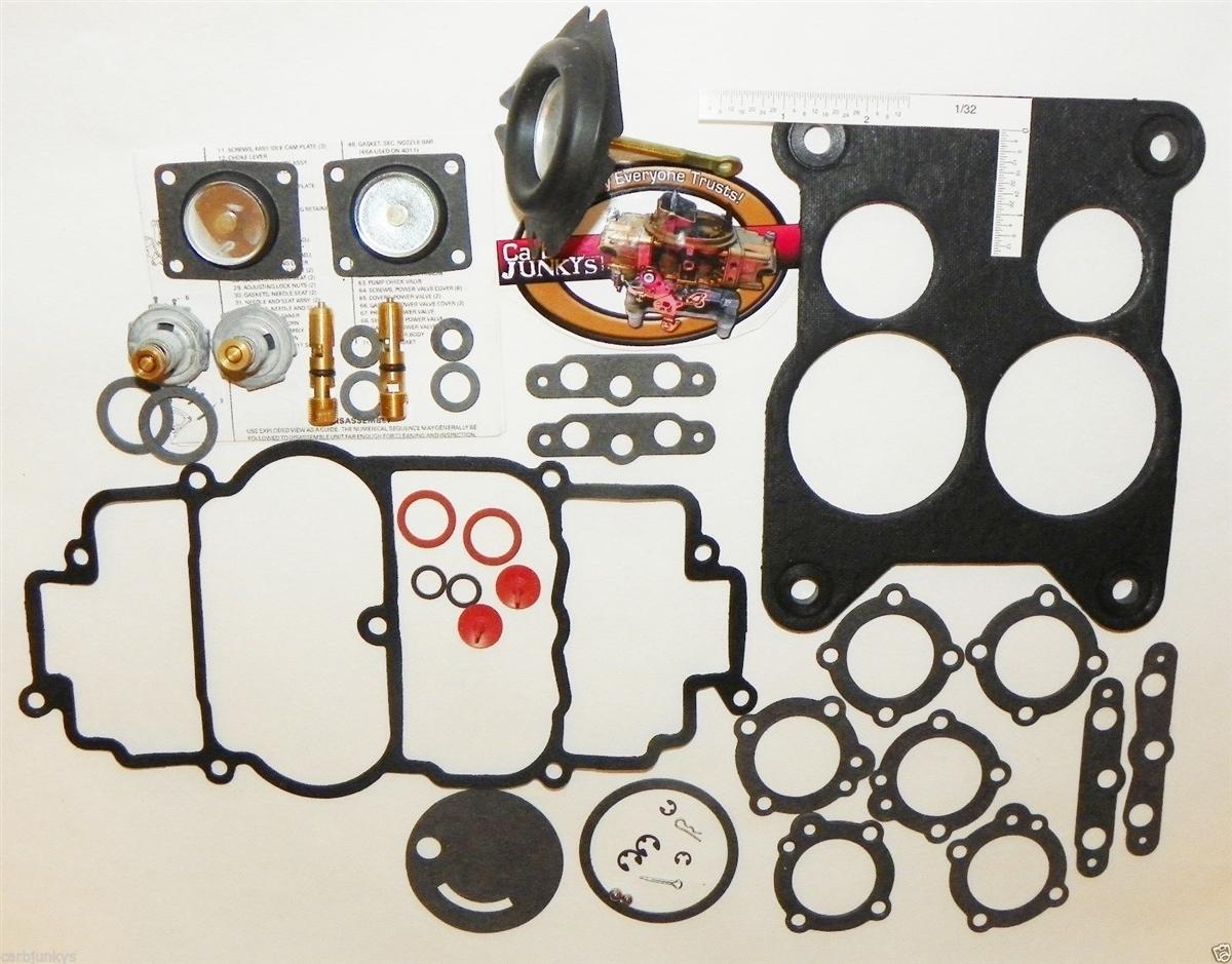Marine Holley 4011 Carburetor Rebuild Repair Kit 84014 84015 84016 84017  84021