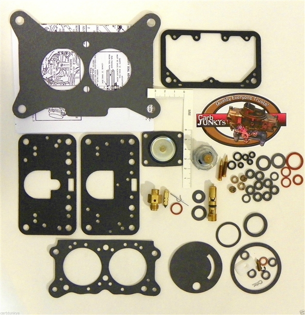 Holley Marine 2B Mercarb Mercruiser 1396-4656 Carburetor Repai Kit 982537 982538
