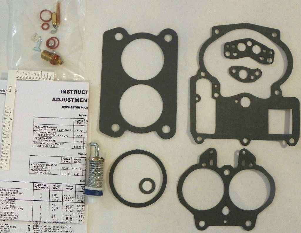 Mercury Marine Mercury Carburetor Repair Kit 17080350 1376-8295 1376-6491  19015