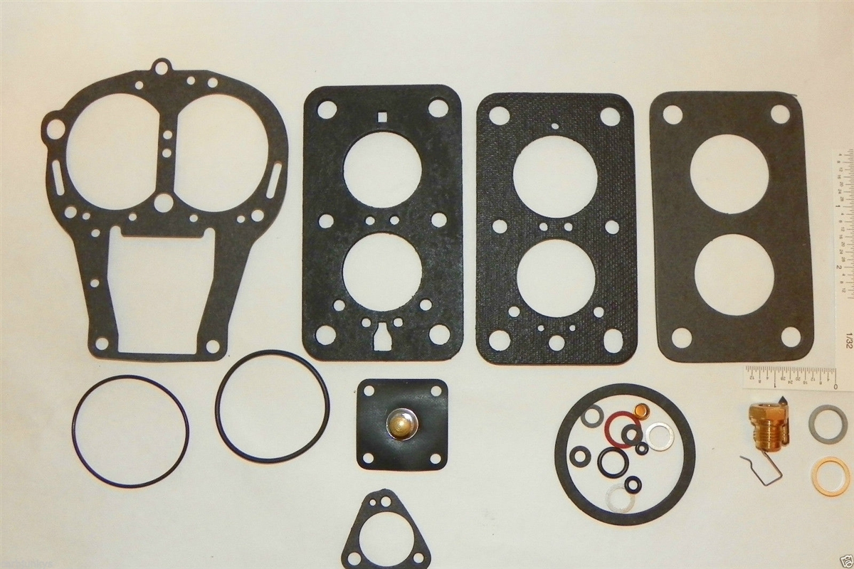 Carburetor Fuel System Repair Kit Solex 2B TDID Audi 70 - 73 BMW 73 - 76 NEW