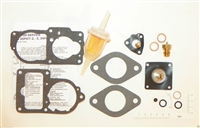 Carburetor Fuel System Repair Kit VW 1974 Super Beetle Solex 34 PICT Fuel Filter