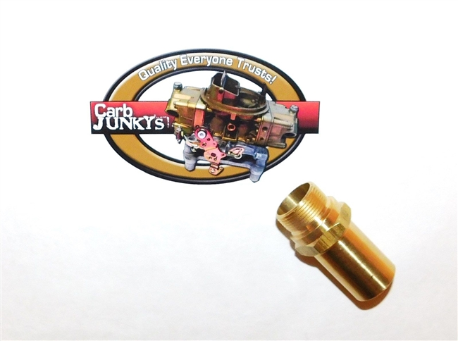 "Rochester 4B Quadrajet Carb Fuel Inlet Fitting 7/8 - 20 2"" Olds Pontiac Buick"