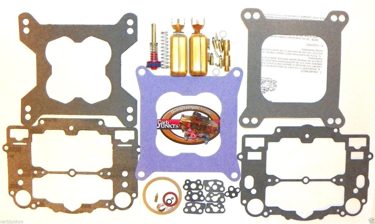 Edelbrock AFB Carb Rebuild Kit 1405 1406 1407 1408 1409 1410 1411 1477  Floats Steel Accelerator Pump