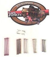For Edelbrock Performer & Thunder Series Step Up Spring Assortment 5 Pairs PLUS  Rod Retaining Springs
