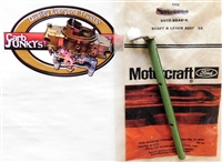 Choke Shaft & Lever Assembly Ford D0TZ-9546-A Motorcraft Autolite NOS