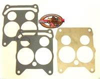 Quadrajet Carburetor Flange Gasket Stainless Steel Heat Shield Baffle 2 Gaskets