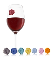 Vacu Vin Glass Markers Classic Grapes