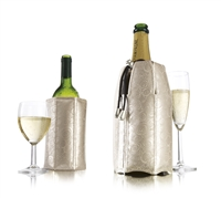 Vacu Vin Active Cooler, Wine & Champagne Set in Platinum