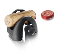Vacu Vin Foil Cutter with Cork Holder, Black