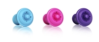 Wine Stoppers Gift Box - Pink, Purple and Blue