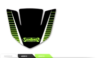 Custom Front Fender Tip  Decal - Ascent Design