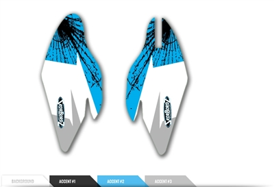 Skorbordz  custom Fork Guard graphics