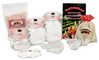 The Probiotic Jar | 1 Liter, .75 Liter, and .5 Liter Probiotic Jar Systems