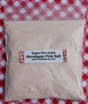 Himalayan Pink Salt 50g Sample