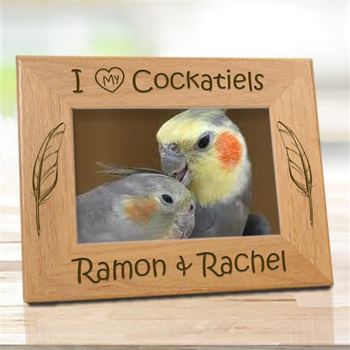 Bird Lovers Personalized Frames