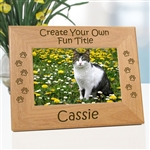 Create Your Own Personalized Cat Frame