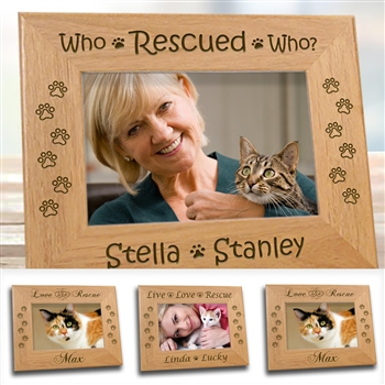 Rescued Cat Frame