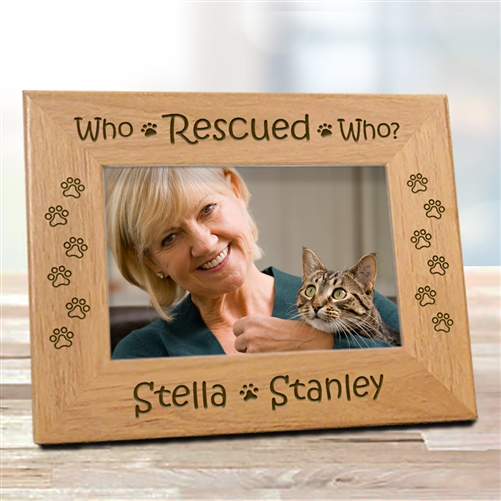 Rescue Cat Picture Frame