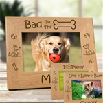 Bad To The Bone Dog Frame