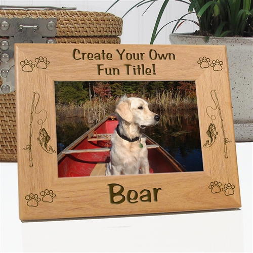 Create Your Own Fishing Picture Frame