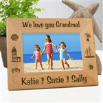 Seaside Memories Personalized Photo Frame