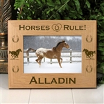 Horses Rule Picture Frame