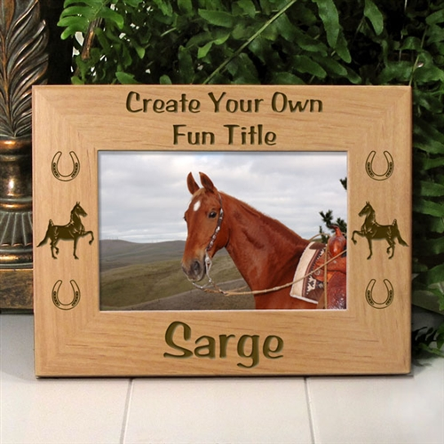 American Saddlebred Horse Picture Frame Larger Photo Email A Friend