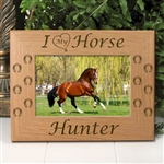 I Love My Horse Frame