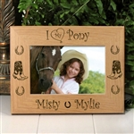 I Love My Pony Picture Frame