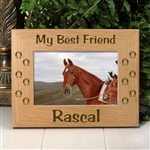 My Best Friend Horse Picture Frame