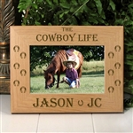 The Cowboy Life Horse Frame
