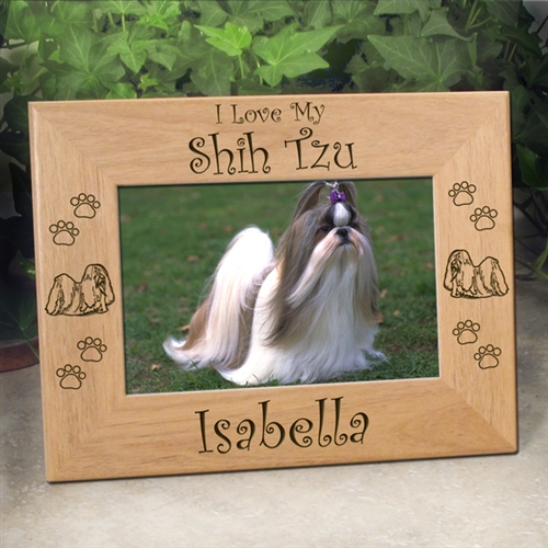 Personalized Shih Tzu Gifts