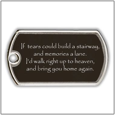 'Always With Me' Pet Memorial Jewelry - Dogs