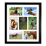 Multi-Photo Frame For Horses