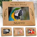 In Memory Of Bird Frame