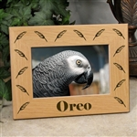 Engraved Photo Frame For Birds