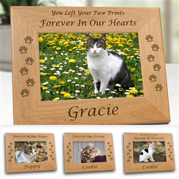 Unique Cat Memorial Frame