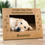 Create Your Own Dog Memorial Picture Frame