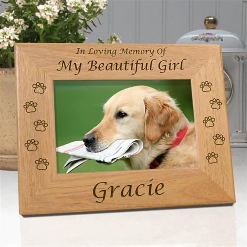In Memory Dog Frame