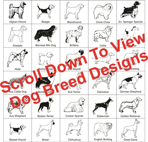 Dog Breed Picture Frame
