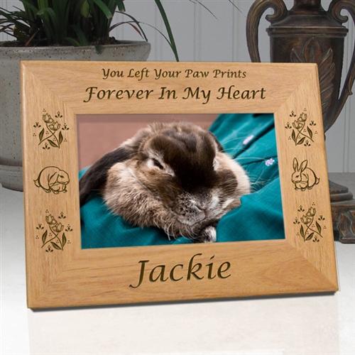 Personalized Rabbit Memorial Frame