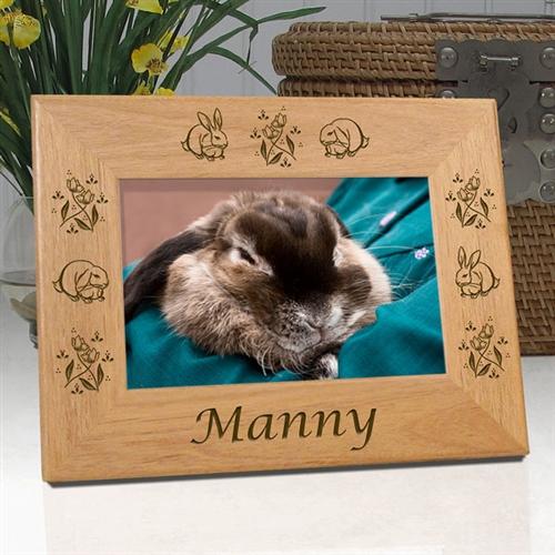 Rabbit Remembrance Frame