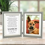 Custom Dog Memorial Frame