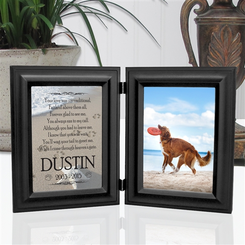 2c1e1a53e2 Paw Prints In The Sand Frame For Dogs