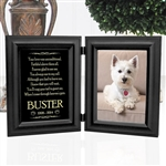 Personalized Dog Memorial Frame