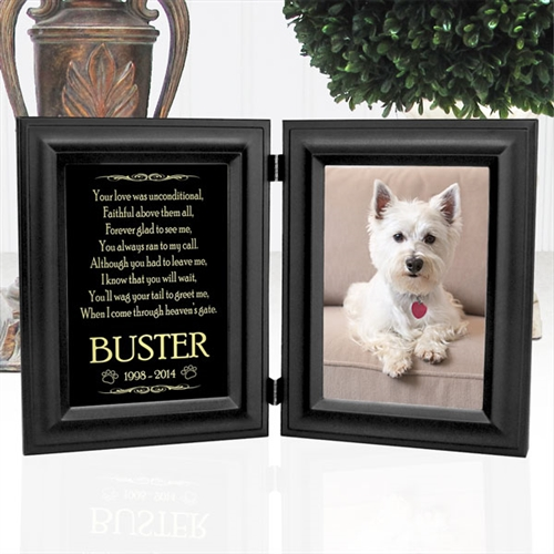 personalized dog memorial frame - Dog Memorial Frame